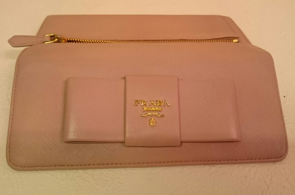 PRADA財布の染め直し修理